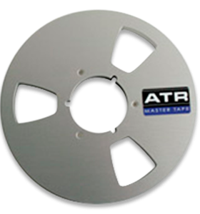 "1/4"" X 10-1/2"" NAB reel in white box"