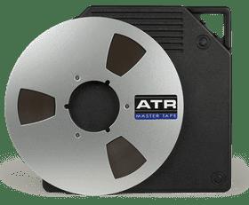 """ATR 1/4"""" Tape - 2500' on NAB reel – boxed"""