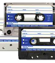90 Minute 831 Instant Record 5-Screw Tabs-In Cassette IN BOX