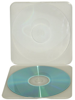 CD/DVD Protective Mailer Case
