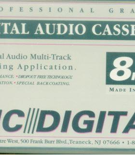 DIC Digital Audio 8mm Cassette 30 Minute