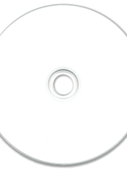 Falcon White Thermal Hub Print DVD-R 8X