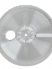 """7"""" Reel for 1/4"""" Tape – Clear Textured"""