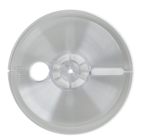 "7"" Reel for 1/4"" Tape – Clear Textured"