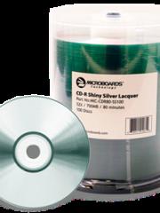 Microboards Silver Thermal DVD-R Hub Printable