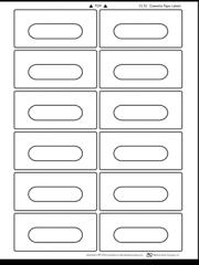 CL12 Cassette Laser Labels 100 Sheets/1200 Labels
