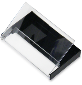 Black and Clear Norelco Box