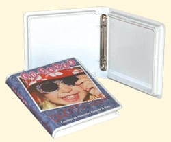 CD/DVD 6 Page Ring Binder