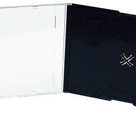 Slim Jewel Box - Black and Clear