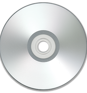 Pro Disc 16X Silver Ink Jet Hub Printable DVD-R