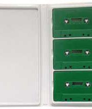 Trim-3 White Cassette Album