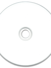 JVC White Ink Jet Hub Printable CD-R