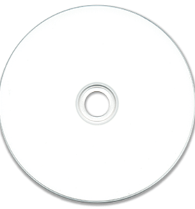 JVC White Ink Jet Hub Printable CD-R