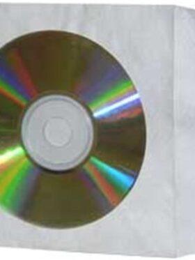 TYVEK CD/DVD Envelope with window