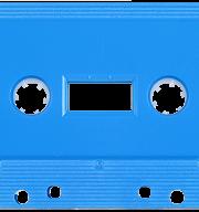Light Blue 731 Music Grade Tabs-Out Cassette