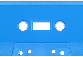 Light Blue 731 Music Grade Tabs-Out Cassette
