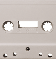 Red Tint 731 Music Grade Tabs-Out Cassette
