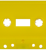 Green Solid 731 Music Grade Tabs-Out Cassette
