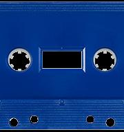 Silver Metallic 731 Music Grade Tabs-Out Cassette